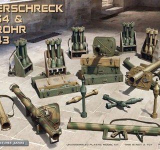 Miniart 35263 Panzerschreck RPzB.54 & Ofenrohr RPzB.43 Set