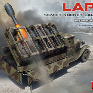 Miniart 35277 SOVIET ROCKET LAUNCHER LAP-7