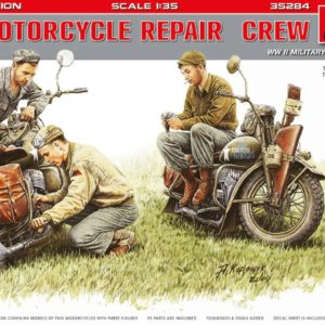 Miniart 35284 U.S MOTORCYCLE REPAIR CREW Special Edition