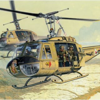Dragon 3538 UH-1D HUEY