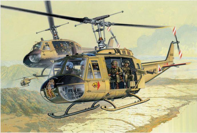 Dragon 3538 UH-1D HUEY