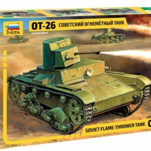 Zvezda 3540 T-26 Flamethrower