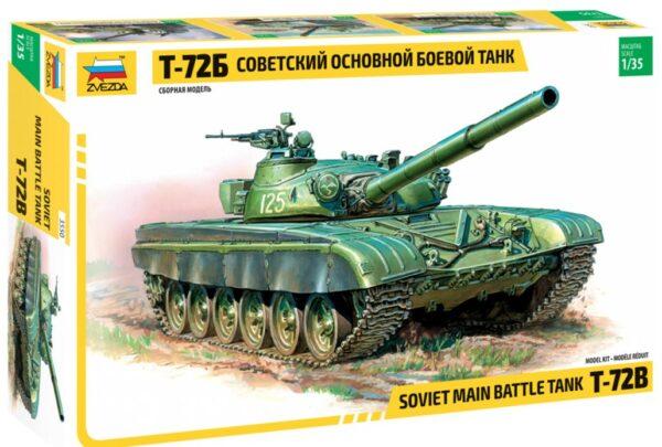 Zvezda 3550 T-72B Soviet MBT