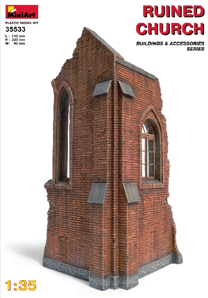 MINIART 35533 Church Ruin                               Modellismo