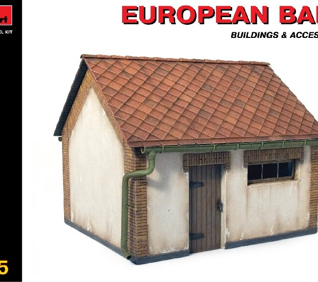 MINIART 35534 European Barn