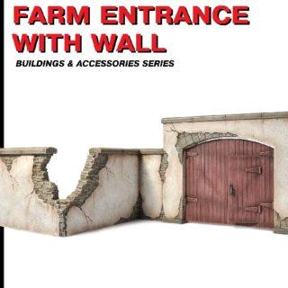 MINIART 35535 Farm Entrance With Wall                   Modellismo