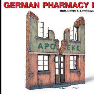 MINIART 35537 German Pharmacy Ruin