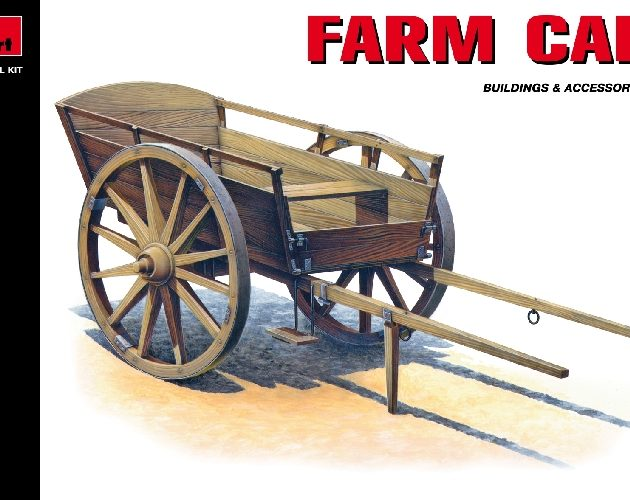 MINIART 35542 Farm Cart  Modellismo