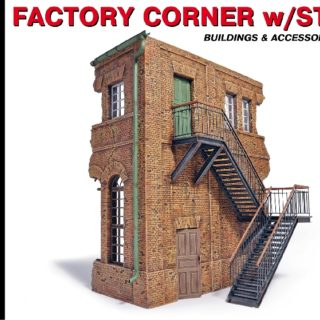 MINIART 35544 Factory Corner With Steps Modellismo