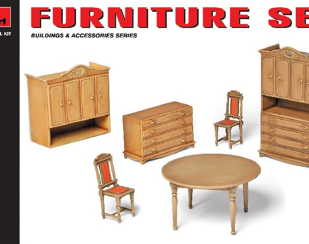 MINIART 35548 Furniture Set