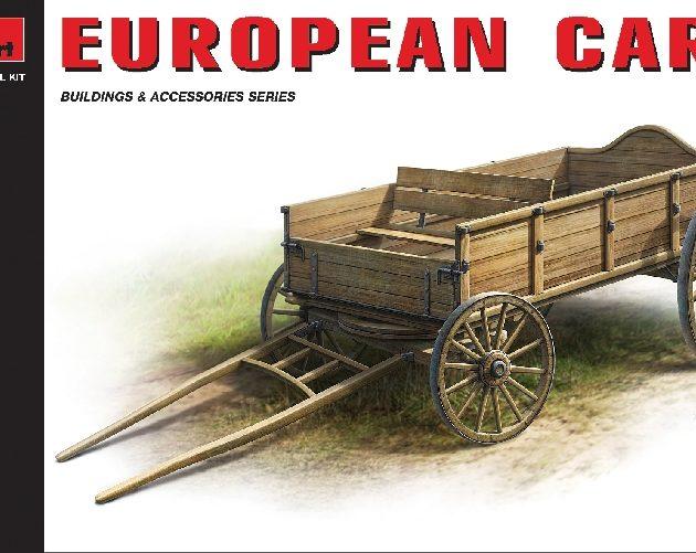 MINIART 35553 European Cart Modellismo