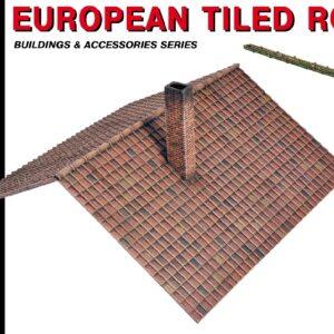 MINIART 35555 European Tiled Roof