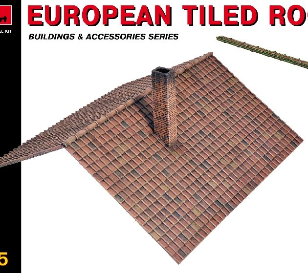 MINIART 35555 European Tiled Roof Modellismo