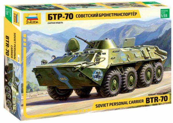 Zvezda 3556 BTR-70 Soviet APC
