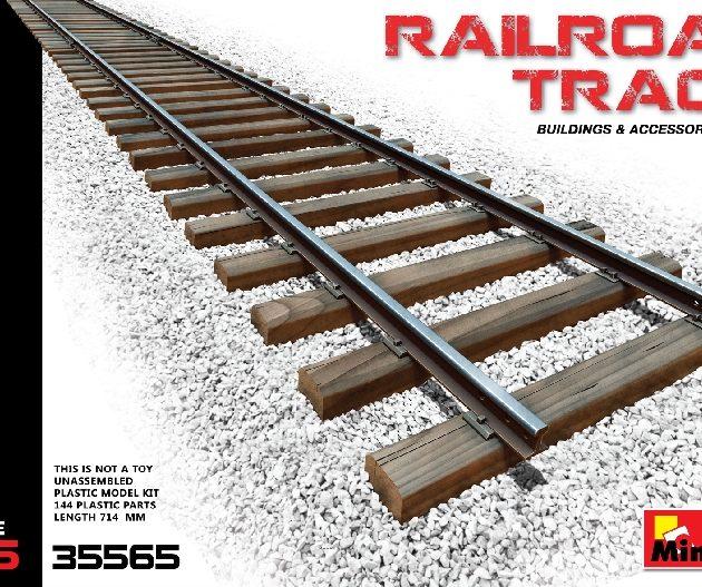 Miniart 35565 RAILROAD TRACK RUSSIAN GAUGE