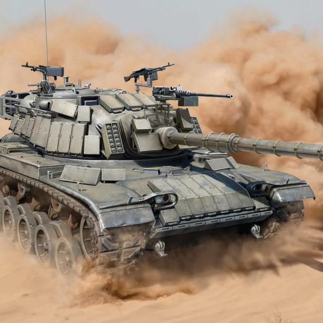 Dragon 3581 IDF M60W/ERA Modellismo