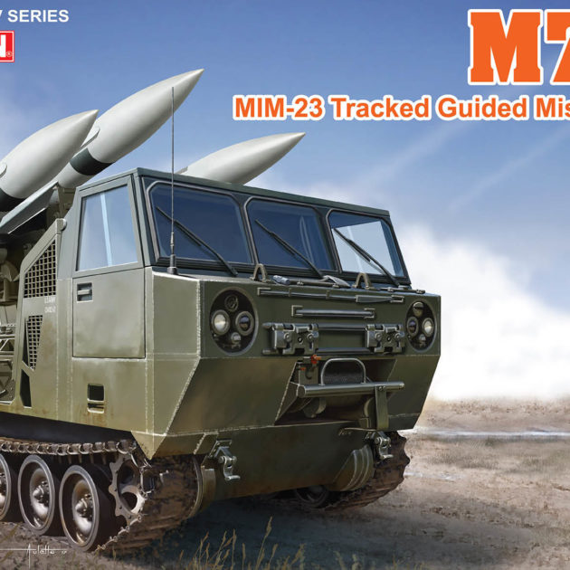 Dragon 3583 M727 MiM-23 Tracked Guided Missile Carrie Modellismo