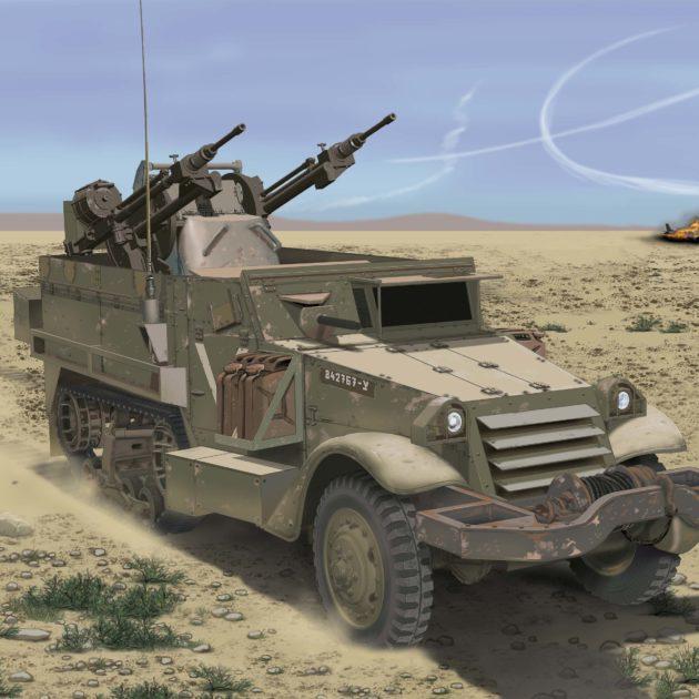 Dragon 3586 IDF M3 HALFTRACK W/TCM-20 Modellismo
