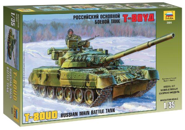 ZVEZDA 3591 Russian Main Battle Tank T-80ud