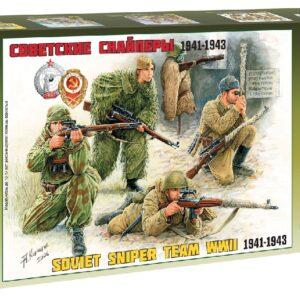 ZVEZDA 3597 Soviet Sniper Team