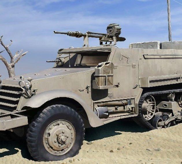 Dragon 3598 IDF M3 HALFTRACK w/20cm HS.404 CANNON Modellismo