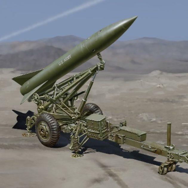 Dragon 3600 MGM-52 Lance Missile w/Launcher (Smart Ki Modellismo
