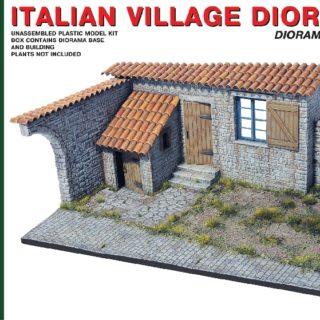 MINIART 36008 Italian Village Diorama   Modellismo