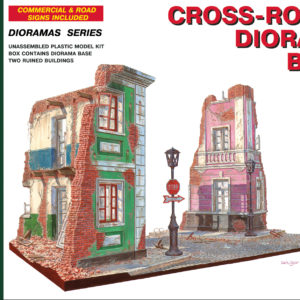 MINIART 36013 Cross-Roads Diorama Base                  Modellismo