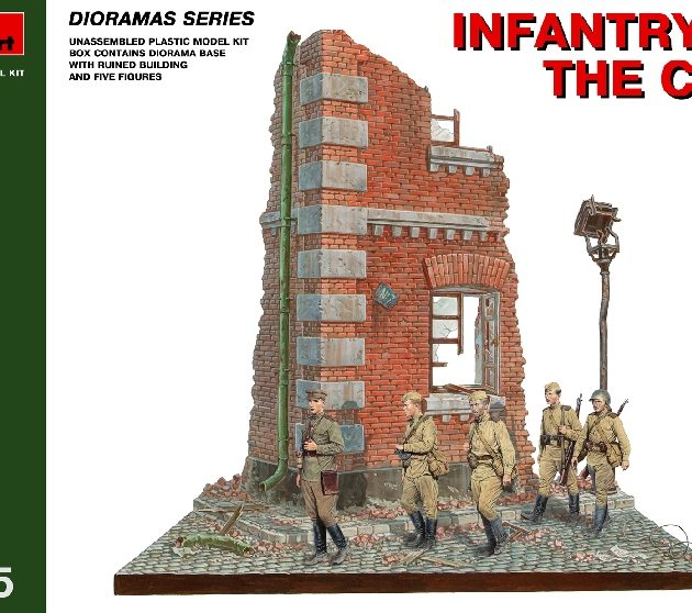 MINIART 36014 Infantry In The City                      Modellismo