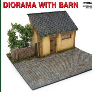 MINIART 36032 Diorama W/ Barn