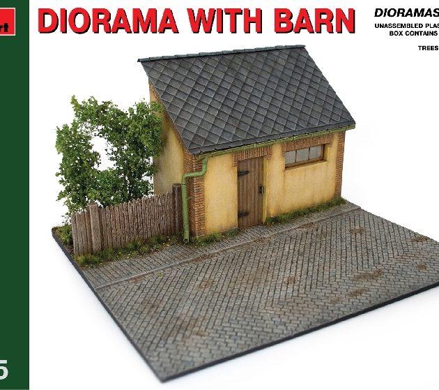 MINIART 36032 Diorama W/ Barn  Modellismo