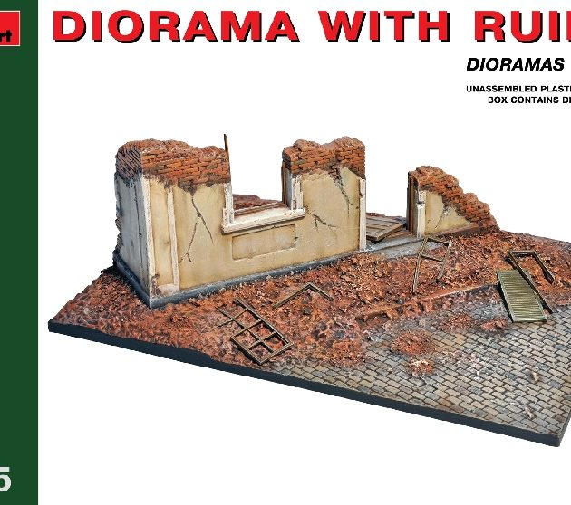 MINIART 36039 Diorama With Ruins Modellismo