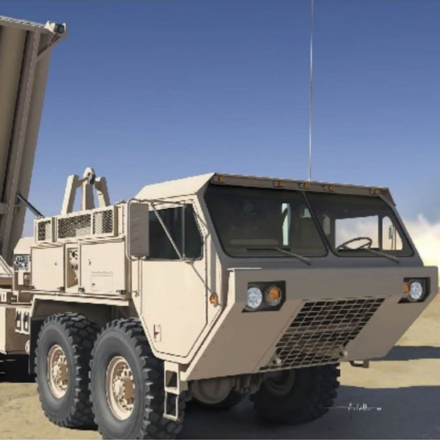 Dragon 3605 M1120 Terminal High Altitude Area Defense Modellismo