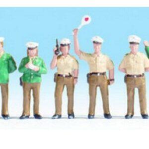 Noch 36090 poliziotti  verdi Modellismo