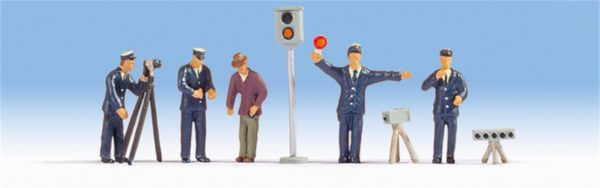 Noch 36100 Personale di polizia Modellismo