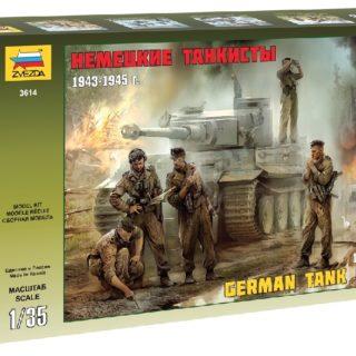 ZVEZDA 3614 German Tank Crew Wwii Late