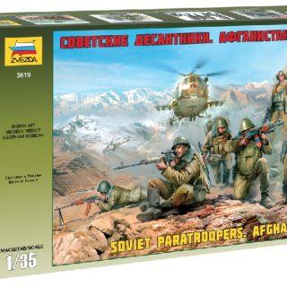 ZVEZDA 3619 Soviet Paratroops Afghanistan
