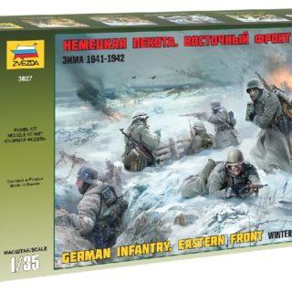ZVEZDA 3627 German Infantry Winter 1941/42