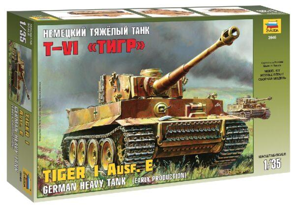 ZVEZDA 3646 Tiger I Early (Kursk)
