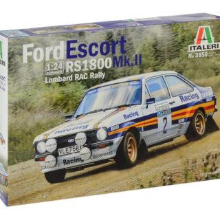 Italeri 3650 FORD ESCORT RS1800 MK.II Lombard RAC Rally