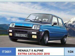 ITALERI 3651 RENAULT 5 ALPINE