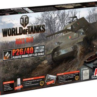 Italeri 36515 WORLD OF TANKS P26/40 Limited Edition