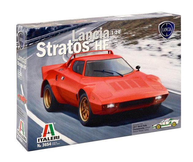 Italeri 3654 LANCIA STRATOS