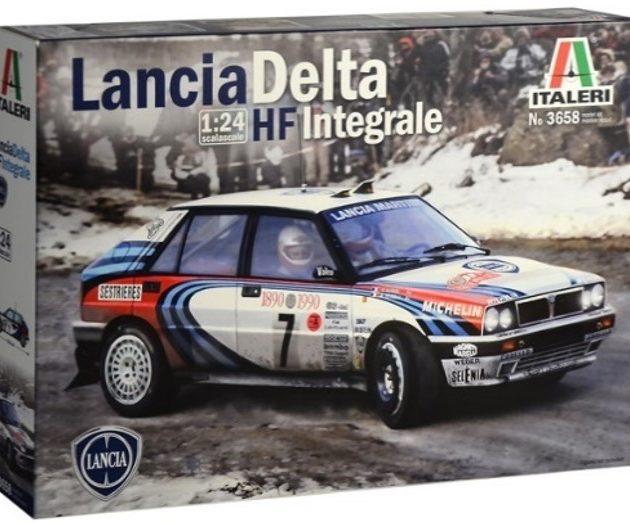 Italeri 3658 1/24 Lancia Delta HF Integrale