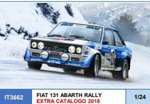 ITALERI 3662 FIAT 131 ABARTH RALLY