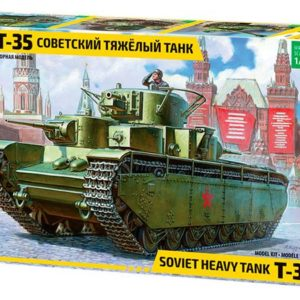 Zvezda 3667 T-35 HEAVY SOV.TANK