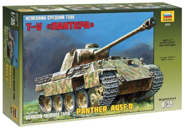 ZVEZDA 3678 Panther Ausf.D