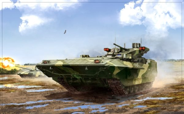 Zvezda 3681 TBMP T-15 Armata Russ.Fighting Vehicle