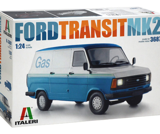Italeri 3687 FORD TRANSIT MK.2