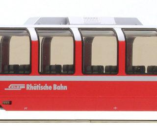 Bemo 3694131 H0 Carrozza panoramica RhB Bp 2521 'Berni